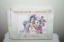 MAQUETTE a call to arms infanterie royalist HOUSE of CAMPAIGN MODEL KIT  neuf