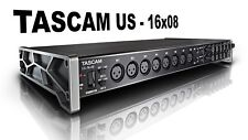 Tascam US-16x08 Interfaccia Audio USB MIDI 16 in 8 out SCHEDA AUDIO