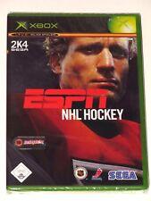 Original Xbox-ESPN NHL hockey 2K4! Neuf/Scellé! Allemagne Ver. Deutsch Neu!