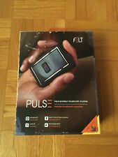 Felt Pulse Mobile Bluetooth Wireless Rechargeable Speaker Black
