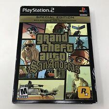 Grand Theft Auto GTA San Andreas Special Edition PlayStation 2 PS2 Complete CIB