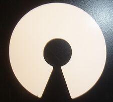 Open Source Small Vinyl Laptop Sticker White - Opensource Open hardware Linux