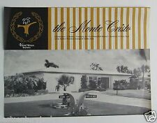 Tierra Yerde  Pinellas County Florida House Plans For The Monte Cristo  1960's ?