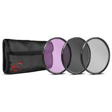 Vivitar 52mm 3 Piece Filter Kit UV/CPL/FDL - VIV-FK3-52