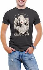 Marilyn Monroe Sexy - HARDLY AN ANGEL - Men's Tee Shirt *Various Colors