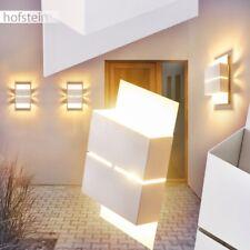 LED Aplique con efecto arriba y abajo jardín patio terazza balcón camino plata