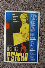 Psycho Lobby Card Movie PosterAlfred Hitchcock Anthony Perkins Vera Miles