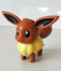 Original Pokemon - Eevee Winding Figure / Ears & Tail Moves (New Without Tag)