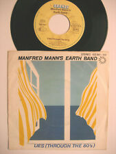 """MANFRED MANN'S EARTH BAND """"LIES THROUGH THE 80´S/ YOU'RE NOT MY"""" 7"""" VINYL SINGLE"""