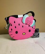Loungefly Hello Kitty Watermelon Crossbody Handbag NEW