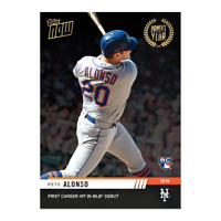 2019 Topps NOW Moment of the Year MOY-11 Pete Alonso RC New York Mets