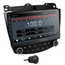 """10.1"""" Android 9.0 Car GPS Stereo Radio Navi For Honda Accord 7th Free Camera"""