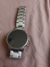 Fossil - Gen 4 Explorist HR Smartwatch 45mm Stainless Steel - Smoke