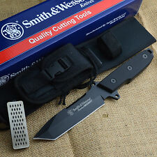Smith & Wesson Homeland Security Tanto Fixed Blade Tactical Knife CKSUR4