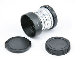 CLA'd & Polished Early Jupiter-8 50mm F2 Portrait Prime Lens For M4/3 Mount!