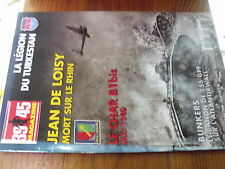 $$f Revue Heimdal 39/45 Magazine N°161 Jean de Loisy  canon de 155 GPF  B1bis