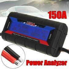 150A Watt Meter Power Analyser Digital LCD Volt Amp Solar Caravan