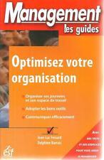MANAGEMENT LES GUIDES / OPTIMISEZ VOTRE ORGANISATION - RESSOURCES HUMAINES