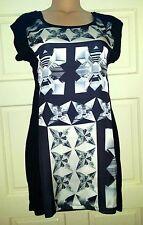Party Mini Geometric Petite Dresses for Women