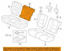 ACURA HONDA OEM 13-15 RDX Rear Seat Cover Top Back Left 82521TX4A01ZA Sandstorm