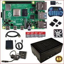 Berryku Raspberry Pi 4 Modelo B Hágalo usted mismo (4G, 2G, 1G) Kit-Con Ventilador Ultra Silenciosa