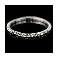 Diamond Stretch Women Bracelet Fashion Crystal Jewelry (Two Row)