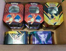 More details for 8x pokemon empty storage tins bundle