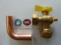 GENUINE IDEAL LOGIC + HEAT12 15 18 24 30 GAS COCK ISO VALVE KIT 175526 FREE POST