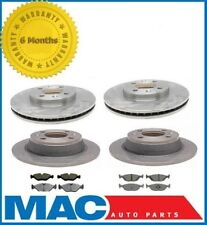 1990-1998 Saab 9000  Frt & Rr (4) Rotors & (2) Brake Pad Sets