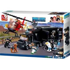 Sluban Kids SWAT Building Block 540 Pcs set Police Vehicle Toy Gift For Kids
