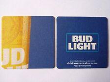 Budweiser Bud Light Beermat Coaster 4