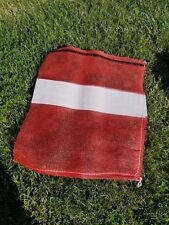 "6 Mesh 22"" x 24"" UV-Resistant Bags for Morel, Firewood, Potato, Onion, Produce"