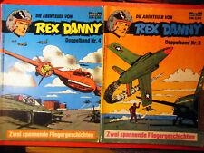 "Konvolut:"" Rex Danny"" Doppelband.3,(-2-) 4,(1-2), Bastei Verlag"