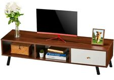 """55"""" TV Stand Console Table W/ Storage Cabinet Home Media Entertainment Center US"""
