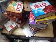 jello varitey flavors lot of tweleve free shipping