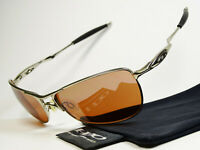 Oakley Crosshair Chrome VR28 Sonnenbrille Pilotenbrille Square Wire Nano Elmont