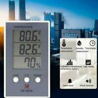 Digital LCD Innen Außen Thermometer Hygrometer Temperaturen Meter T4A4 T9X1