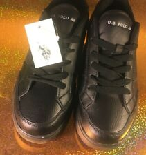 polo men shoes size  9 men all black