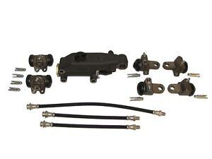 Brake Master & Wheel Cylinders w/ Hoses 46 47 48 Chrysler DeSoto 1946 1947 1948