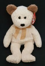 TY 2000 HUGGY the BEAR BEANIE BABY - MINT with MINT TAGS