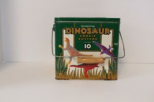 William Sonoma Dinosaur Cookie Cutter Set In Box 10 Cookie Cutter