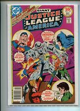 JUSTICE LEAGUE OF AMERICA #142 NM 9.4 GREAT BUCKLER COVER