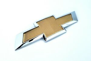 Chevy Cruze 2011-2015 Gold Rear Bowtie Emblem US Shipping!