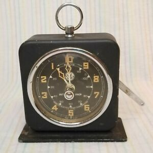 1950s General Electric X-Ray Corporation Working Interval Timer Vintage GE