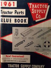 Tractor Supply Co. 1961 Parts Equip Catalog Case Ford John Deere MF IH AC Oliver