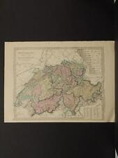 Antique Maps, 1873, Switzerland, R4#26