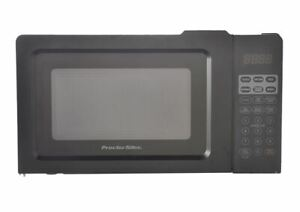 Proctor Silex 0.7 Cu.ft Black Digital Microwave Oven