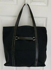 Kate Spade bag Black nylon tote 18 Inch carry on shopper handbag