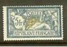 """FRANCE STAMP TIMBRE N°123a """" TYPE MERSON 5F BLEU ET OLIVE """" NEUF xx A VOIR S274"""