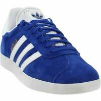 adidas Gazelle Lace Up  Mens  Sneakers Shoes Casual   - Blue - Size 5 D